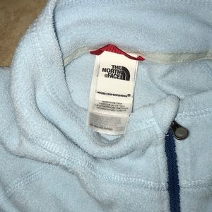 The North Face Tops - The north face blue fleece